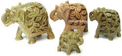 Stone Carving Elephant