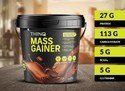 Thinq Mass Gainer (10 Lbs) Powder, Packaging: Hdpe Bucket