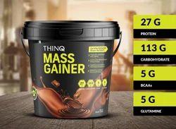 Thinq Mass Gainer (10 lbs) Powder, Packaging: HDPE Bucket
