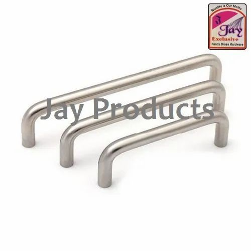 3-12'  Door Fittings SS Cabinet D Handle, Packaging Type: Box