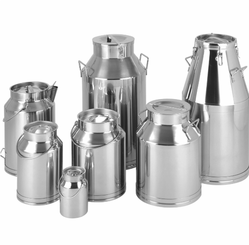 Stainless Steel Dairy Cans, for Kitchen