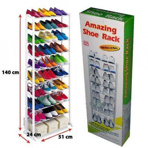 Image result for Amazing 10 Layer Shoe Rack upto 30 Pairs
