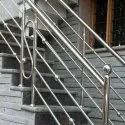 Designer Stainless Steel Staircase Railing