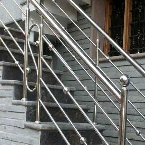 Designer Stainless Steel Staircase Railing