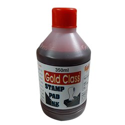 Gold Class 350 ml Red Stamp Pad Ink