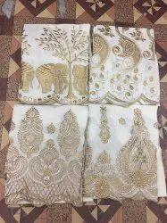 Cotton Zari Chikan Plazzo