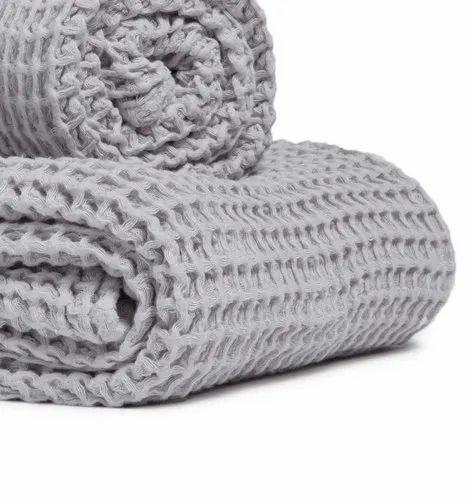 Eco Friendly Waffle Weave Bed Linen Bath Towels