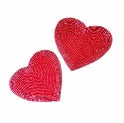 Heart Shape Beeds Coasters