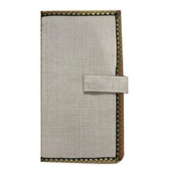 Jute Passport Folders