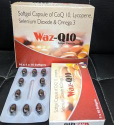 Co Enzyme Q10 100mg EPA 90mg DHA 60mg Lycopene 10% 4000mc