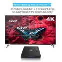 4GB and 32GB Android 8.1 TV Box and 4K Smart HD Media Player WiFi Bluetooth USB 3.0
