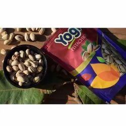 YOGI Packed Pistachio Nuts, Packaging Size: 250gm, Packaging Type: Plastic Box