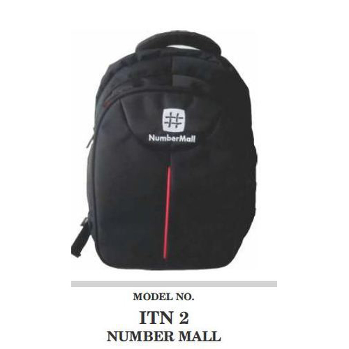 a5e6105d3a0 Polyester Black Boys College Backpack, Rs 400 /piece, Taj Services ...