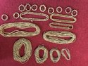 Raw Sandalwood Beads