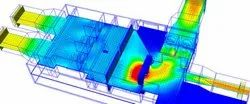 CFD Analysis Of Combustion Ducting Service