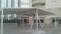 Retractable Tensile Roof