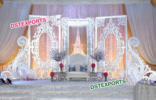 Grand Wedding Stage Backdrop Walls