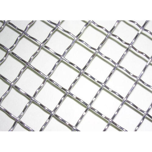 Stainless Steel Crimped Wire Mesh, Rs 25 /square feet, Krishna Wire ...