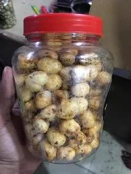 Flavoured And Roasted Makhana, Packaging Size: 100 Grams, Packaging Type: Jar