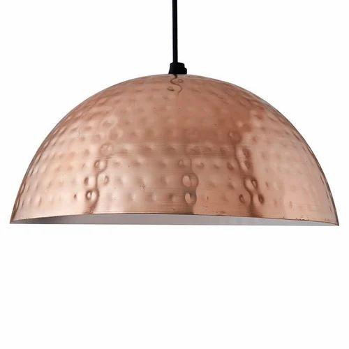 the best attitude 18e2c b7556 Hammered Copper Pendant Light