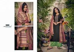 Shahnaz Arts Panihari Printed Pashmina Salwar Kameez Collection