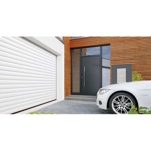 White Roll Matic Roller Garage Door Rs 300000 Unit In Arc