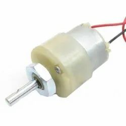 3.5 RPM 12v DC Center Shaft Gear Motor