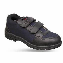 Mens Black Velcro Casual Gola Shoes