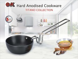Hard Anodized Tadka Pan