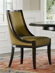 Aditya Furniture Leather Dining Chair, Set Size: Single
