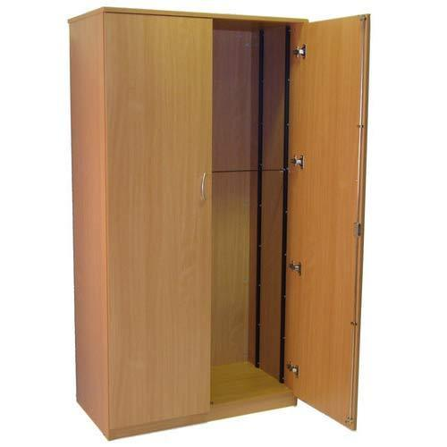 Brown Wooden Wardrobe