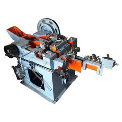Accurate MS Automatic Iron Nail Making Machine, Production Per Minute: 300-400