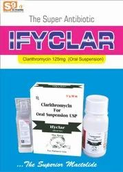 Clarithromycin 125mg/5ml DRY SYRUP
