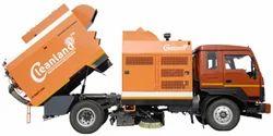 Truck Road Sweeper
