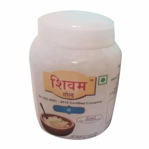 Shivam Gold 1 Liter Fresh Buffalo Ghee, Packaging Type: Jar