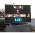 Aluminum Outdoor Led Scrolling Display Board, Shape: Square And Rectangle