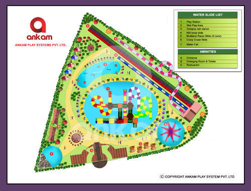 Amusement park Capacity Layout Design