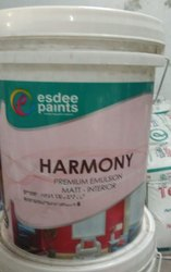High Gloss Premium Emulson Matt - Interior (harmony) for Home, Packaging Size: 20 Liter