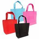 Loop Handle Cotton Multicolor Reusable Bags, Capacity: 5-10 Kg