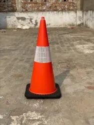 TRAFFIC CONE MOULDED RUBBER BASE 2.8KG