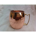 Copper Coffee Mugs with Logo Print