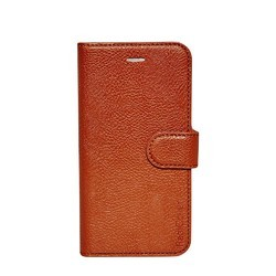 Brown Leather Mobile Cover