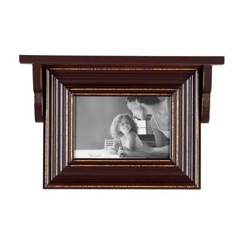 Brown Single Photo Frame