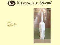 White Decoration PV Bottle, For Home