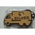 Wooden Truck keychain
