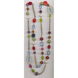 VRPS Glass Bead Necklace