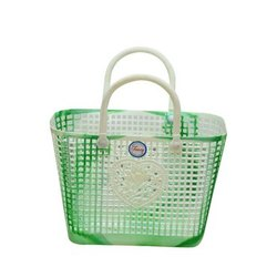 Mohini Plastic Basket Green(Mohini 999)