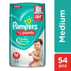 Pampers Baby Pant Diapers M-54