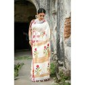 Ladies Printed Nylon Saree