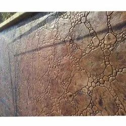 10000 Sq Ft Outdoor Stamped Concrete Flooring Service, in Commercial Building, Thickness: 3 Inch